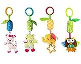 Leedemore Activity Baby-Kinderwagen Spielzeug-Baby Spielzeug ab 0-36 Monaten