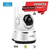 Fredi WLAN IP Kamera/Überwachungskamera/Sicherheit und Wireless Netzwerkkamera HD 720p/Babyphon...