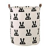 Dooxi Multifunktionale Faltbarer Schmutzige Kleidung Wäschekorb Household Rund Wäschebox...