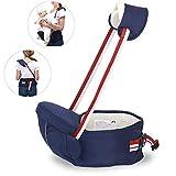 Babytrage Rucksack mit abnehmbaren Hipseat Infant Rucksack Front Carrier Ideal für Kleinkind...