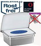 Feuchttücherbox- aus hochwertigem Edelstahl-kein Bohren- kein Austrocknen der Tücher-