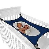 FOONEE Baby-Hängematte für Kinderbett, verstellbares, bequemes Sicherheitsschlafsofa Starke...
