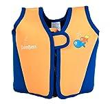 Swimbest - Baby/Kinder - Schwimmjacke / Schwimmweste aus Neopren, Orange , 18 Monate - 3 Jahre (Bis zu etwa 20 kg)