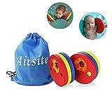 Aitsite Schwimmerscheiben Kinder Schwimmarmbänder Verbesserte Schwimmscheiben mit Freier Tasche 6...