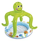 Siva Toys 227971Baby-Pool mit lächelndem Oktopus als Schattenspender