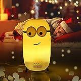 infinitoo Luftbefeuchter Baby | 150ml Ultraschall Ultra Leise Aroma Diffuser | LED Mini-Capsule Nachtlicht Duftlampe | Öle Diffusor Aromatherapie Raumbefeuchter für Kinderzimmer Schlafzimmer Zuhause