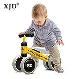 XJD Baby Kinder Laufrad Spielzeug kein Fußpedal Vier Rädern Ersten Geburtstagsgeschenk für 1-2...