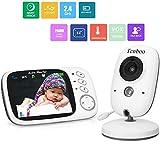 Babyphone mit Kamera video babyphone Baby Monitor mit 3.2' TFT LCD Bildschirm Nachtsichtkamera und...