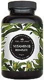 Vitamin B Komplex Kapseln. 180 vegane Kapseln im 6 Monatsvorrat. Hochdosiert, mit bio-aktiven...