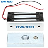 OWSOO 60kg 132lbs Elektronishce Magnetische Schloss f¨¹r T¨¹r Access Control System Hostcontroller T¨¹r Eintrag NC-Modus