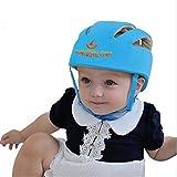 ELENKER Babyhelm Kopfschutzmütze gegen Stöße für Kleinkind beim Lauflernen verstellbar Safety...