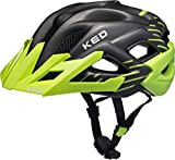 KED Status Helmet Junior Green Black Matt Kopfumfang M   52-59cm 2018 Fahrradhelm
