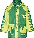 Playshoes Baby - Jungen Babybekleidung/ Regenbekleidung, Tierdruck Regen-Mantel Krokodil 408582, Gr. 80, Grün (900 original)