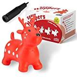 all kids united Hüpftier Sprungpferd REH - Hüpfpferd Sprungtier + Pumpe