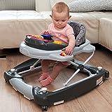 3IN1 Lauflernhilfe + Spielcenter (12 Melodien) Gehfrei Gehhilfe Baby Walker Babyschaukel...