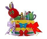 Pampers Windeltorte Raupe Nimmersatt bunt - Baby Geschenke zur Geburt - dubistda handmade