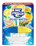 WC Frisch Duo Aktiv Duftspüler Lemon Original, 4er Pack (4 x 1 Stück)