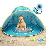 MG MULGORE Baby Beach Zelt Portable Lightweight Pop Up Zelt, Outdoor Beach Shade UV Schutz Sun...