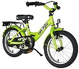 BIKESTAR Premium Sicherheits Kinderfahrrad 16 Zoll für Jungen und Mädchen ab 4-5 Jahre   16er Kinderrad Classic   Fahrrad für Kinder Grün