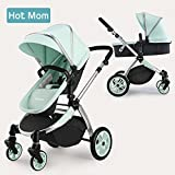 Hot Mom Multi Kinderwagen Kombikinderwagen 2 in 1 mit Buggy 2018 neues Design