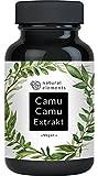 Der VERGLEICHSSIEGER 2018* Camu-Camu Kapseln - Natürliches Vitamin C - 120 vegane Kapseln im 4 Monatsvorrat - Ohne unerwünschte Zusätze – Laborgeprüft und hergestellt in Deutschland