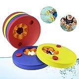 Weeygo Schwimmscheiben - 6 Stücke Kinder Schwimmhilfe Schwimmringe Arm Swim Discs, Schwimmer Discs...