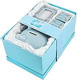 BRUBAKER Set 'Mein erstes Sparschwein', blau für erstes Spargeld, erste Milchzähne, Haare und mit...