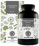 Magnesium Komplex - 400mg elementares Magnesium je Tagesdosis. Mit Tri-Magnesium Dicitrat,...
