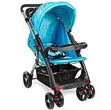 Kinderwagen RANGER S4-2 Gepolsterter 5-Punkt Sicherheitsgurt Blau