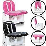 Mitwachsender Tischsitz / Sitzerhöhung / Hochstuhl mit TABLETT
