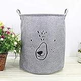 Lindong Kinderzimmer Wäschekorb Faltbar Wasserdicht Wäschebox Wäschesammler Aufbewahrungsbox...