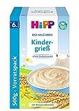 Hipp Bio-Milchbrei Kindergrieß, 1er Pack (1 x 500g)