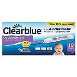 Clearblue Ovulationstest Fortschrittlich & Digital, 10 Tests, 1er Pack (1 x 10 Stück)