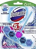 Domestos WC-Stein Power 5+ Aktiv Blauspüler Pinke Magnolie, 7er Pack(7 x 55 g)