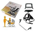 Kids2sit Geschwistersitz Zusatzsitz für Kinderwagen mit Griff SET
