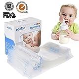 praktischen Muttermilchbeutel 200ml,Muttermilch Aufbewahrungsbeutel, Muttermilch-Gefrierbeutel- platzsparend und sofort verwendbar,30 Stück