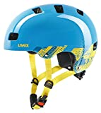 Uvex Kinder kid 3 Fahrradhelm, blau (Blackout Blue), 51-54 cm