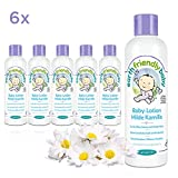 Earth Friendly Baby Lotion Milde Kamille, 6 Flaschen á 250 ml, 1500 ml, Sparpackung