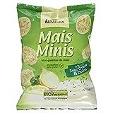 Alnatura Bio Mini Maiswaffeln Sour Cream & Onion, glutenfrei, 10er Pack (10 x 50 g)