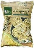 biozentrale Mini-Maiswaffeln Rosmarin, 5er Pack (5x 50 g)