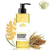 Bio-Reisöl Reis-Öl Reinigungsöl Organisch KALTGEPRESST100% Natürlich 500 ml