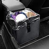 YIKANWEN Auto Mülleimer, Auslaufsicher Wasserdicht Abfalltasche Auto, Zusammenfaltbare Müllbeutel Abfall-Tasche für Unterwegs