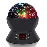 Sterne Nachtlicht projektor, SCOPOW Sternenhimmel Projektor Lampe mit LED Timer 360 Grad Rotation...