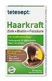 tetesept Haarkraft Zink+Biotin+Folsäure | Ergänzungsmittel mit Zink und Biotin für die Haare | 5 x 30 Tabletten [Nahrungsergänzungsmittel]