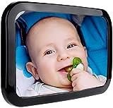 Filfia Rücksitzspiegel für Babys zur Beobachtung Ihres Babys im Auto, Kinderleichte Montage