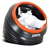 ADVANTUSE - Falt-Mülleimer to Go mit 4 Liter Fassungsvermögen für Auto, Camping, Angeln und Festival - Faltbar, Kompakt, Tragbar und Wiederverwendbar