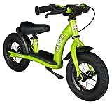 BIKESTAR Kinder Laufrad Lauflernrad Kinderrad für Jungen und Mädchen ab 2 - 3 Jahre  10 Zoll Classic Kinderlaufrad  Grün