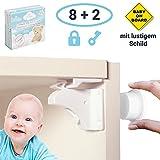 Magnetische Kindersicherung - 8 x Schranksicherung – unsichtbare Kindersicherung Schrank und...