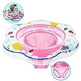 Baby Schwimmring mit Schwimmsitz, aufblasbare Baby Schwimmring mit Hautpflege PVC für Kleinkind...