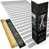 Luana Rose 20x Anti-Rutsch Streifen für Treppe und Bad - Transparent & Selbstklebend - 100%...